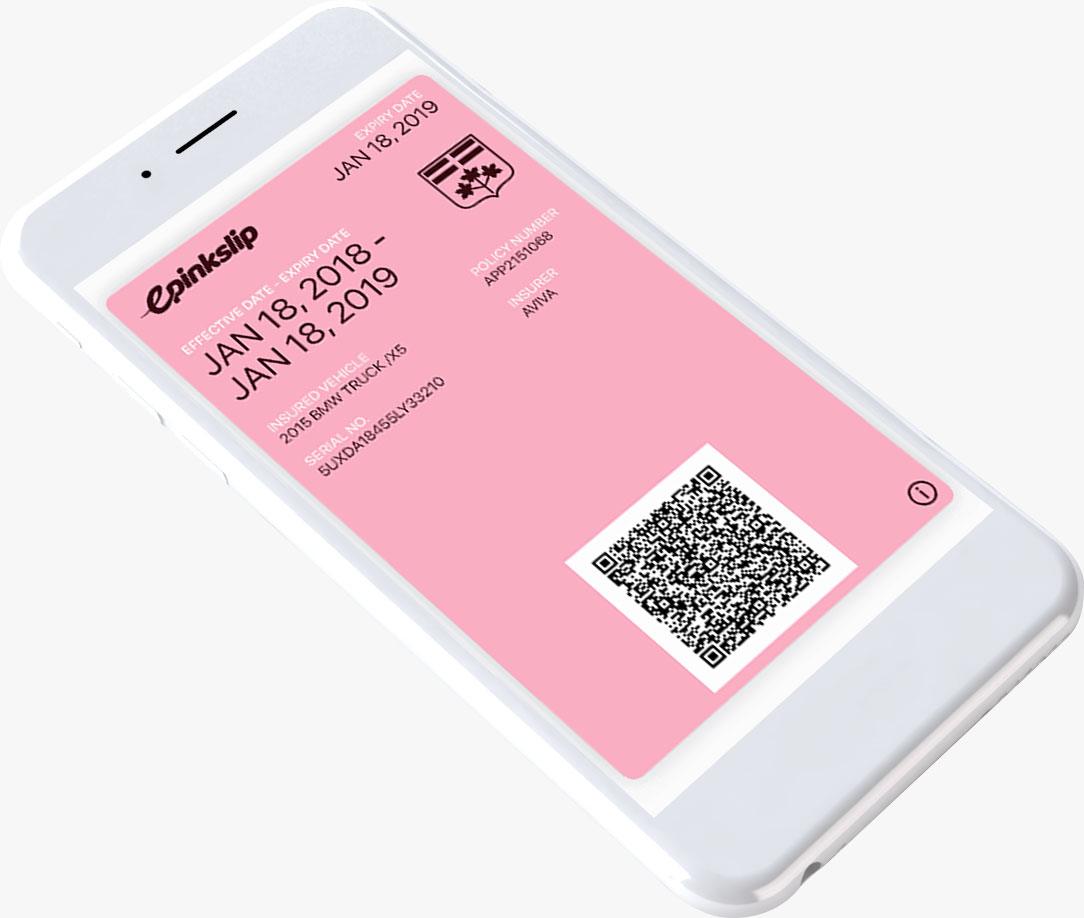 Electronic Pink Slip