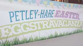 Petley-Hare Easter Eggstravaganza Poster